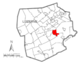 Map of Luzerne County, Pennsylvania Highlighting Fairview Township.PNG