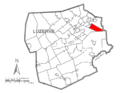 Map of Luzerne County, Pennsylvania Highlighting Jenkins Township.PNG