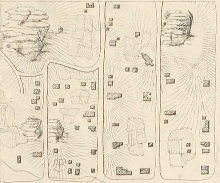 Map of the former Seneca Village from Viele's survey for Central Park Map of Seneca Village.jpg