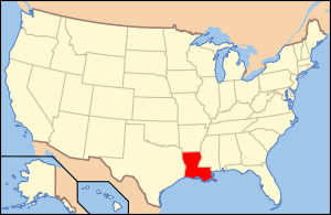 Map of USA LA.svg