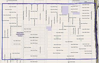 Vermont Square, Los Angeles - Vermont Square as outlined by the Los Angeles Times