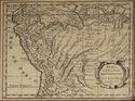 Mapa del Perú de Nicolas Sanson d'Abbeville (1600-1667)