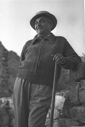 Marcel Janco - Janco in 1954