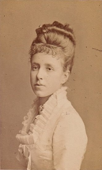 Maria Christina of Austria - Queen Maria Christina of Spain in her youth, 1880s.