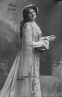 Maria Jeritza Czech opera singer