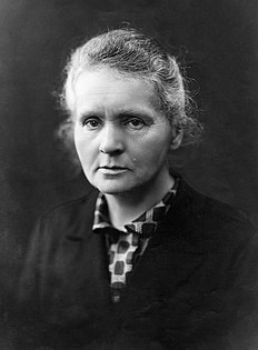 Marie Curie Polish-French physicist and chemist (1867–1934)