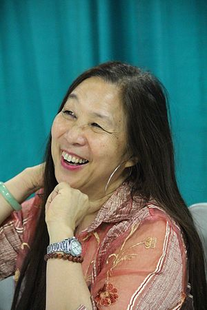 Marilyn Chin - Image: Marilyn Chin 2015 National Book Festival (6)