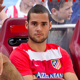 Mario Suárez (footballer) - Suárez with Atlético Madrid in 2013