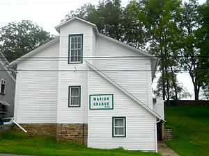 Marion Township, Centre County, Pennsylvania - Grange Hall in Jacksonville