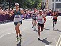 Mark Kenneally (Ireland), Raul Pacheco (Peru) - London 2012 Mens Marathon.jpg