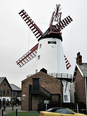 Thornton, Lancashire - Image: Marsh Mill 05C322