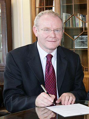 Martin Mc Guinness.