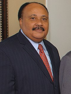 Martin Luther King III American civil rights activist