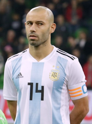 fed01664b91 Javier Mascherano is the most capped player in the history of Argentina  with 147 caps
