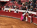 Matadors Assistant and Monosabio - Plaza Mexico.jpg