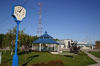 Matagami City in Quebec, Canada