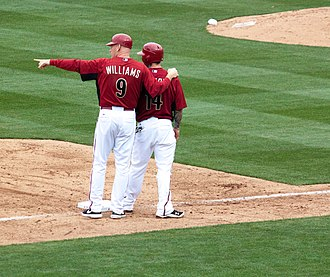 Matt Williams (third baseman) - William (left) as third base coach with the Diamondbacks in 2011