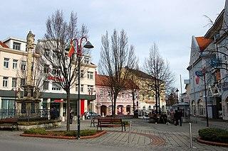 Mattersburg Place in Burgenland, Austria