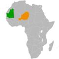 Mauritania Niger Locator.png
