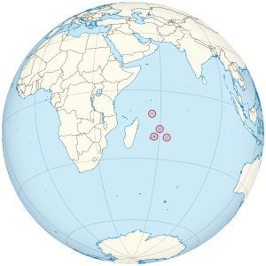 Mauritius on the globe (Madagascar centered).svg
