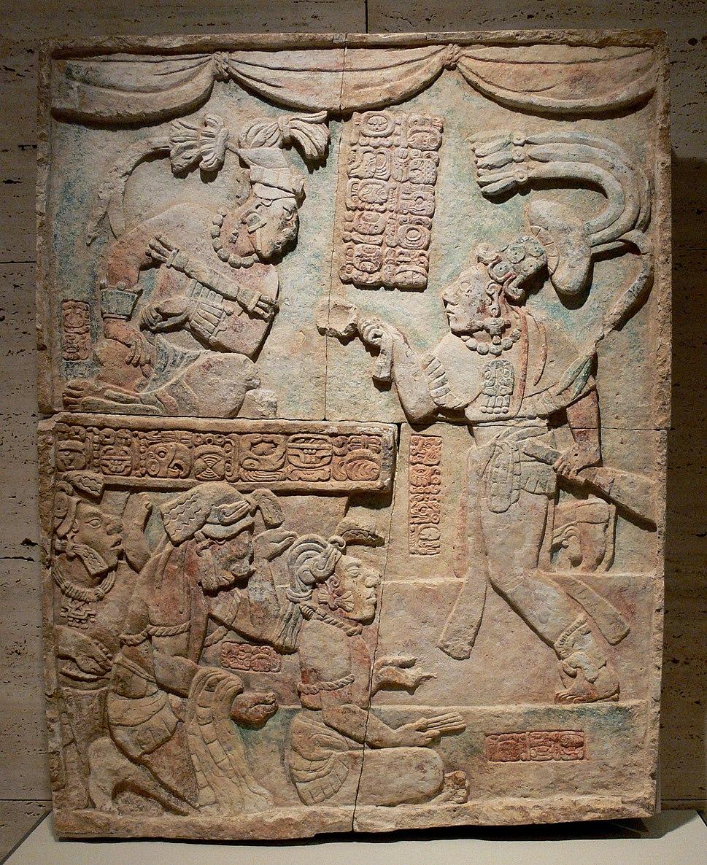 Maya Presentation of Captives Kimbell