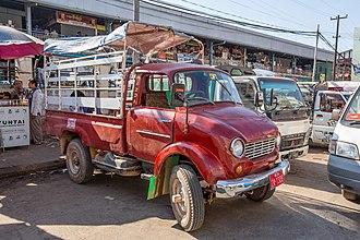 Mazda B series - Mazda D1500 in Myanmar