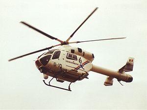 Gendarmerie (Belgium) - Helicopter McDonnell Douglas MD-900 of the Rijkswacht/Gendarmerie