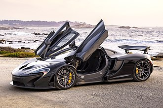 Starboy (song) - Image: Mc Laren P1