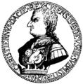 Medalj över Kristian I, Nordisk familjebok.png