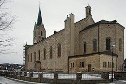 Medebach Pfarrkirche St. Peter und Paul (Südostseite)