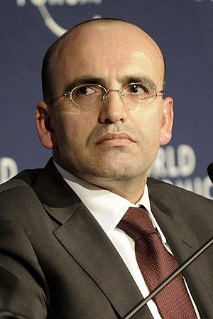 Mehmet Şimşek - Image: Mehmet Şimşek (cropped)