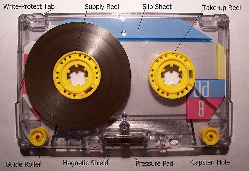 Memorex Compact Cassette opened.jpg