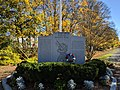 Memorial, World War II Veterans Memorial Trail, Mansfield MA.jpg