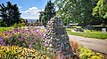 Memorial cairn at Grimston Park in New Westminster.jpg