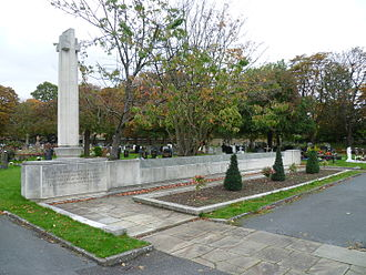 City of Westminster Cemetery, Hanwell - The memorial to the City of Westminster civilians killed during the Second World War.