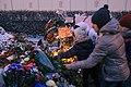 Memorial to November 2015 Paris attacks at French embassy in Moscow 17.jpg