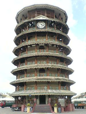 Teluk Intan - Leaning Tower of Teluk Intan