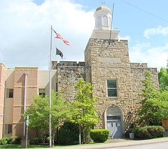 Menifee County, Kentucky - Image: Menifee County Courhouse, Kentucky