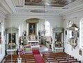 Merazhofen Pfarrkirche Blick von der Empore.jpg