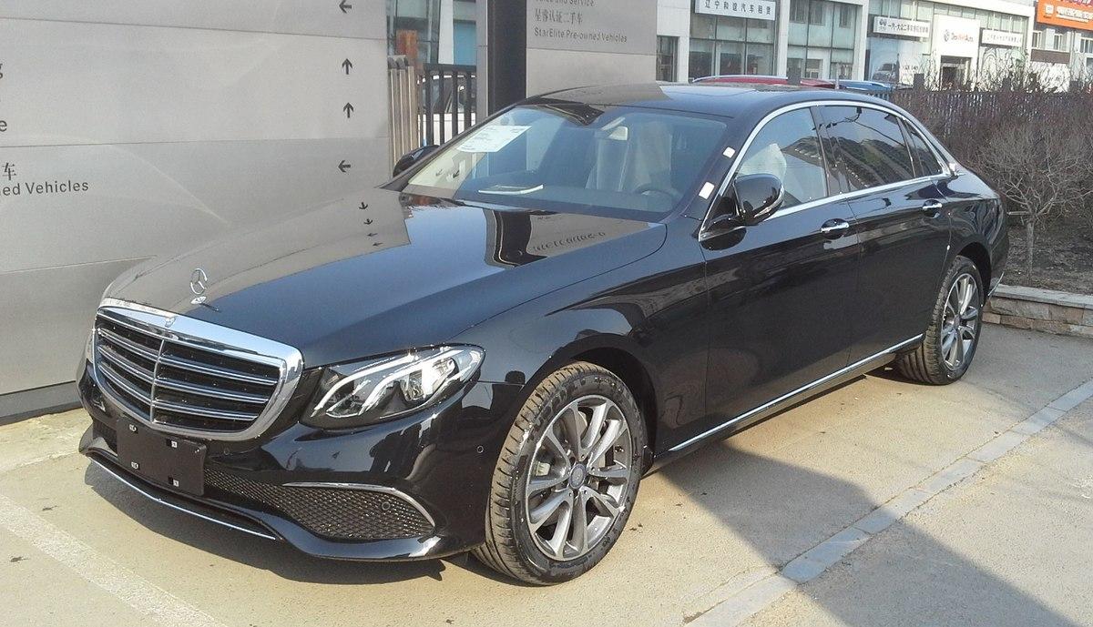 Mercedes-Benz Long-Wheelbase E-Class (V213) - Wikipedia