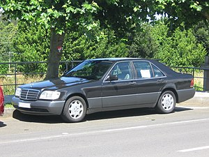 mercedes w140 coupe v12