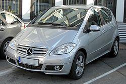 Mercedes A-Klasse Facelift (W169) front-1.jpg
