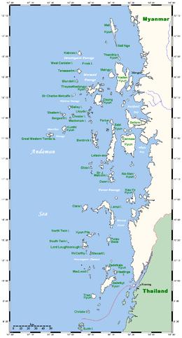 Myeik (Mergui) Archipelago information | Go-Myanmar.com