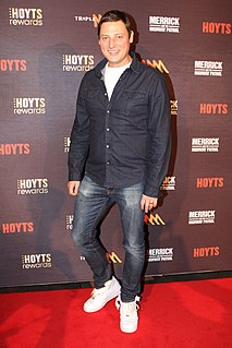 Merrick Watts Australian comedian