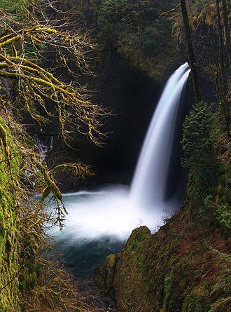 Eagle Creek (Multnomah County, Oregon) - Metlako Falls on Eagle Creek