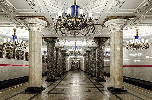 Metro SPB Line1 Avtovo