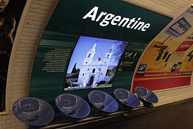 Image illustrative de l'article Argentine (métro de Paris)