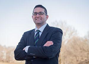 Matt Meyer - Image: Meyer during 2016 campaign