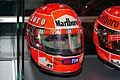 Michael Schumacher 2000 Japanese GP helmet front-right 2019 Michael Schumacher Private Collection.jpg