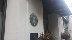 Photo of Michael William Balfe brown plaque